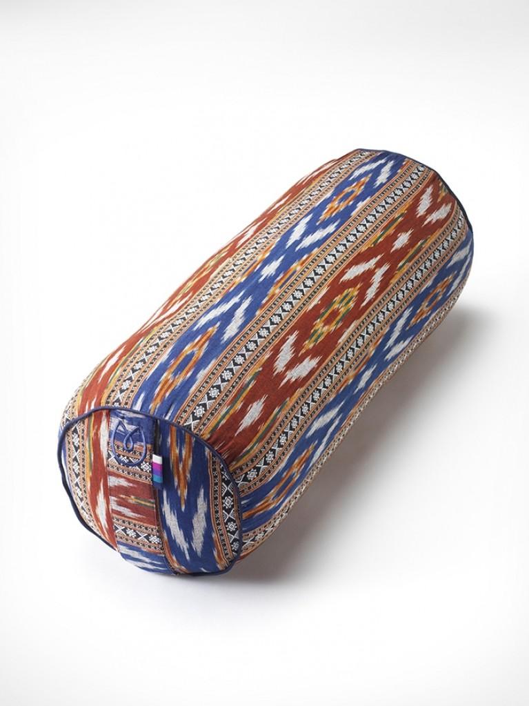 yogamatters-ikat-bolster_red-blue
